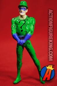 DC Comics Batman Animated RIDDLER PVC Figure circa 2000.