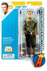 2019 MEGO 8-INCH action figure CAPTAIN KIRK in DRESS UNIFORM as he appeared on the original Start Trek TV series.