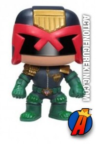 Funko Pop! Heroes Judge Dredd vinyl bobblehead figure.