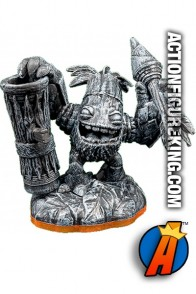 Skylanders Giants variant Stone Zook figure from Activision.