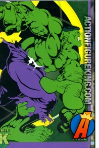 The Incredible Hulk 63-piece jigsaw puzzle from RoseArt.