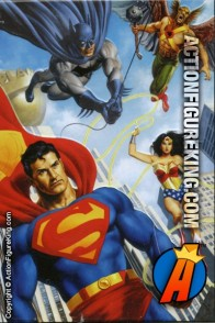 Amazing original artwork for this Fusion Toys JLA Lasso jigsaw puzzle.