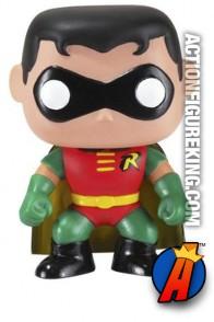 Funko 6-inch Pop Heroes Robin figure.