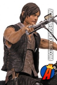Walking Dead TV Series Daryl Dixon with Chopper from McFarlane Toys.