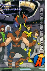 2003 RoseArt X-Men Evolution 63-piece jigsaw puzzle.