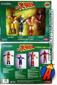 Marvel 7-Inch Scale X-MEN Bend-Ems Gift Set Figures.