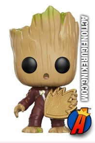 Funko Pop! Marvel GOTG GROOT Hot Topic Figure.