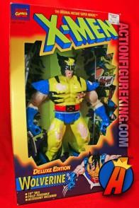 X-Men Deluxe 10-inch savage battle-damaged Wolverine action figure by Toybiz.