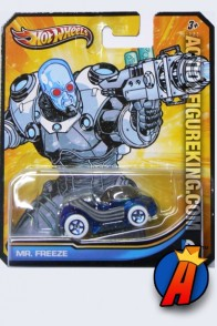 Mr. Freeze die-cast vehicle from Hot Wheels circa 2013.