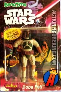 STAR WARS Bend-Ems BOBA FETT Bendable Figure.