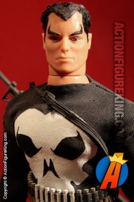 From the pages of Spider-Man comic books comes this custom sixth-scale Punisher action figure.
