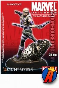 Marvel Universe 35mm HAWKEYE metal figure from Knight Models.