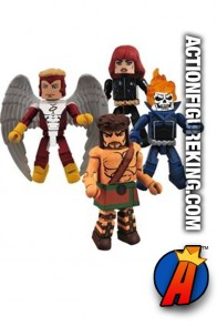 Marvel Minimates Champions Box Set 2.5 inch figures.