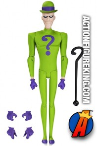 BATMAN the Animated Series RIDDLER 6-inch Action Figure.