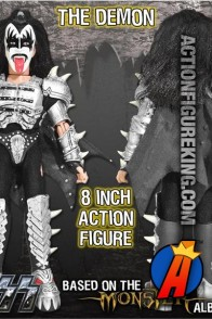 KISS The Demon (Gene Simmons) Action Figure from Monster Series 4 by Figures Toy Company.