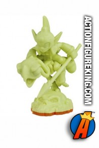 Skylanders Giants variant glow-in-the-dark Fright Rider figure from Activision.