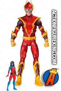 DC Collectibles presents this 6-inch scale Super Villains Johnny Quick action figure with Atomica.