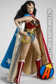 Tonner 16-inch Deluxe Wonder Woman dressed figure.