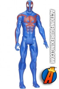 12-inch scale Titan Hero Series Ultimate Spider-Man figure from Hasbro.