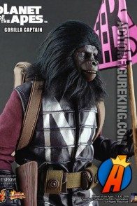 Hot Toys Gorilla Captain action figure.