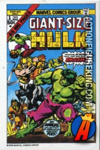 21 of 24 from the 1978 Drake's Cakes Hulk comics cover series.