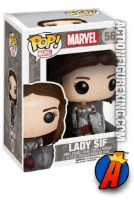 A packaged sample of this Funko Pop! Marvel Lady Sif figure.