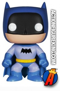 Funko Pop! Heroes Entertainment Earth Exclusive Blue Batman Figure.