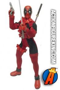 Diamond Select Toys Mego-style Deadpool action figure.