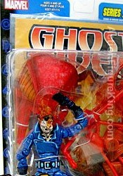 Marvel Legends Series 7 Pashing Ghost Rider Variant action figure from Toybiz.
