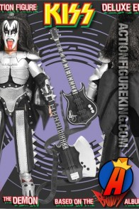 KISS Series 3 Sonic Boom Variant The Demon (Gene Simmons) Action Figure from by Figures Toy Company.