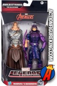 Marvel Legends Infinite Series Hawkeye action figure from Hasbro.