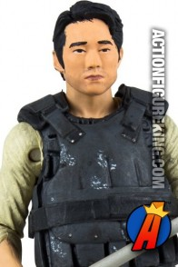 The Walking Dead TV Series 5 Glenn action figure from McFarlane Toys.