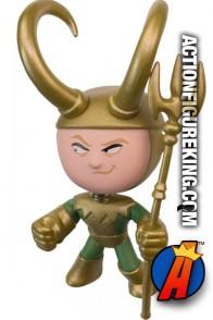 Funko Marvel Mystery Minis Loki variant bobblehead figure.