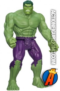 Avengers Assemble Titan Hero Series Hulk action figure from Hasbro.
