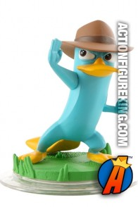 Disney Infinity Phineas and Ferb Agent P figure.