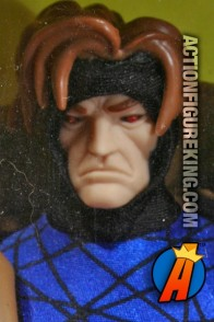 Sixth-Scale Gambit action figure with cloth uniform from Toybiz.