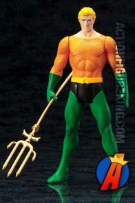 Kotobukiya DC COMICS SUPER-POWERS Collection AQUAMAN ArtFX statue.