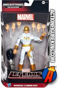Marvel Legends Infinite Series Iron Fist action figure from Hasbro.