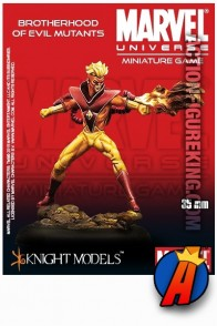 Knight Models Marvel Universe 35mm PYRO Metal Figure.