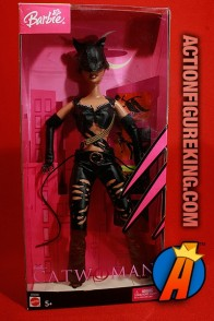 Barbie as Catwoman based on the Halle Berry live-action film.