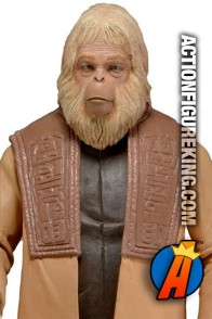 7-inch scale Planet of the Apes Classic Series 2 Dr. Zaius figure from Neca.