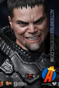 Sixth-scale General Zod movie figure from Hot Toys and Sideshow Collectibles.