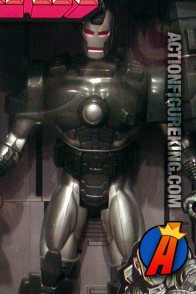 10-inch articulated War Machine action figure from the Iron Man line by Toybiz.