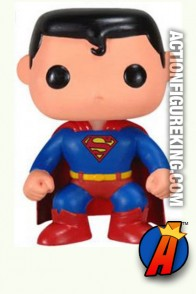 Funko Pop Heroes Superman figure.