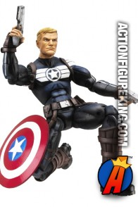 Marvel Legends Commander Steve Rogers figure is ready for action!
