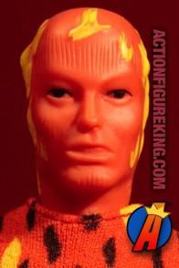Mego 8-inch Human Torch action figure.