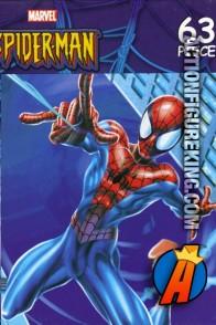 2004 Rose Art Spider-Man 63-piece Night Flight jigsaw puzzle.