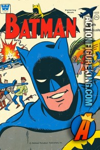 1966 Batman Meets Blockbuster Whitman Coloring Book.
