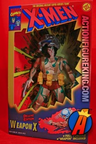 Nice MIB sample of this X-Men Deluxe 10-inch Weapon X Wolverine action figure from Toybiz.
