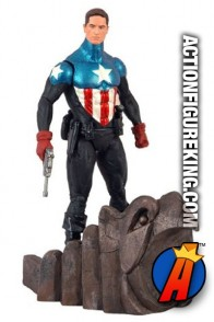 Marvel Select 7-inch scale Captain America unmasked variant from Diamond.